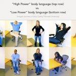 body language power poses