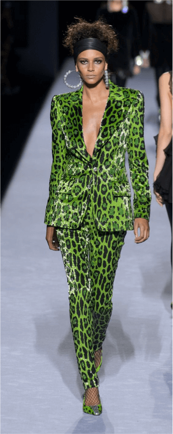 Tendencias 2018/2019 Animal Print. Tom Ford