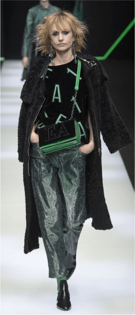 Tendencia brillo Armani