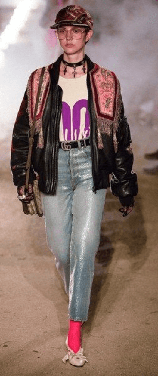 Tendencias cowboy Gucci