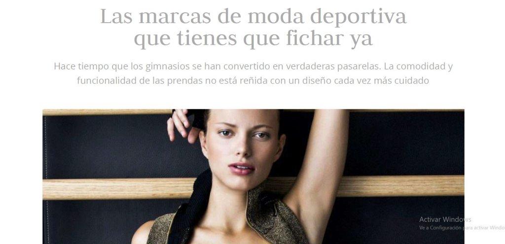 telva, asesora de imagen madrid, paz herrera, marcas de moda deportiva en tendencia,